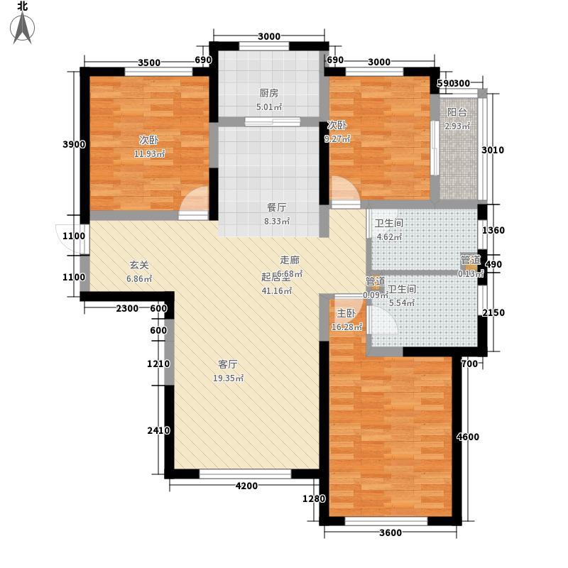 绿地塞尚公馆140.00㎡绿地塞尚公馆户型图A10户型3室2厅2卫户型3室2厅2卫