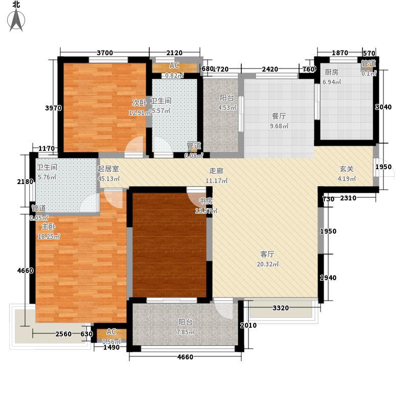 绿地塞尚公馆140.00㎡绿地塞尚公馆户型图户型图3室2厅2卫1厨户型3室2厅2卫1厨