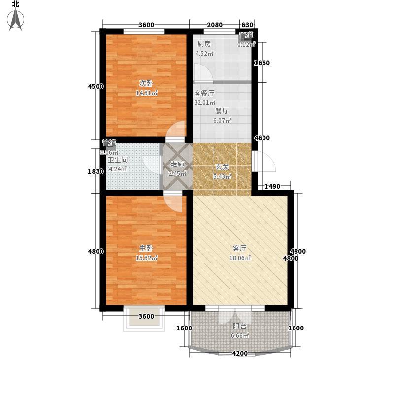 金岗新村金岗新村户型图2室2厅1卫1厨户型10室