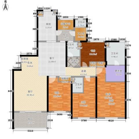 南通运杰龙馨园3室0厅4卫1厨230.00㎡户型图