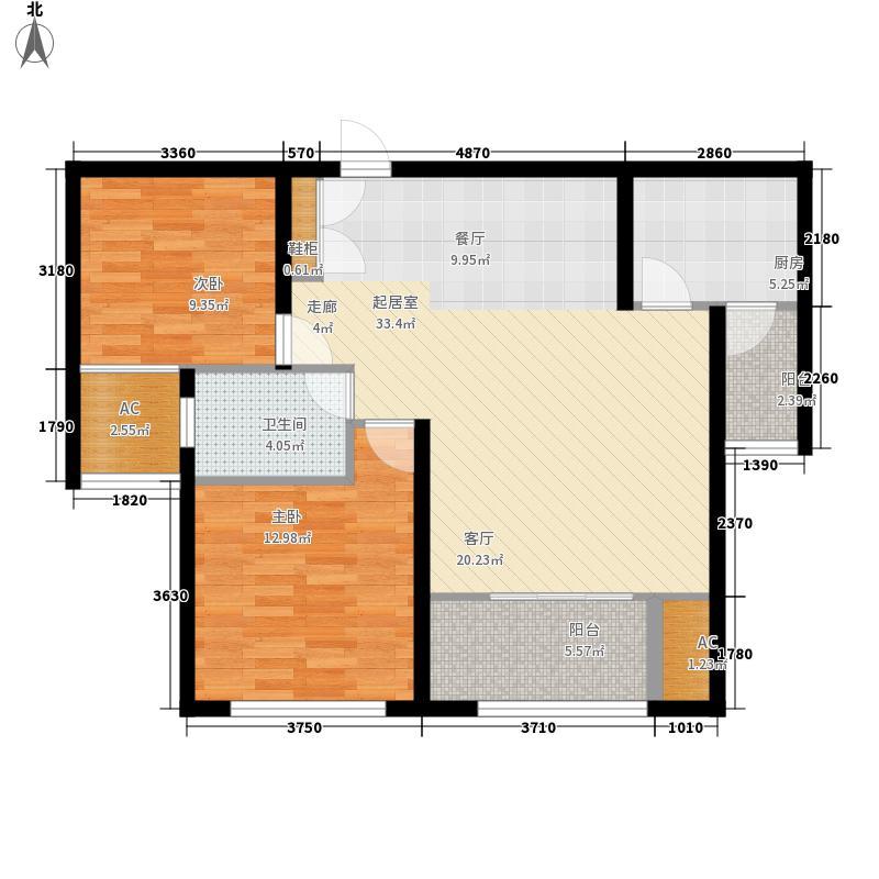 建业森林半岛87.27㎡建业森林半岛F(3#7#13#)2室2厅1卫1厨87.27㎡户型2室2厅1卫1厨
