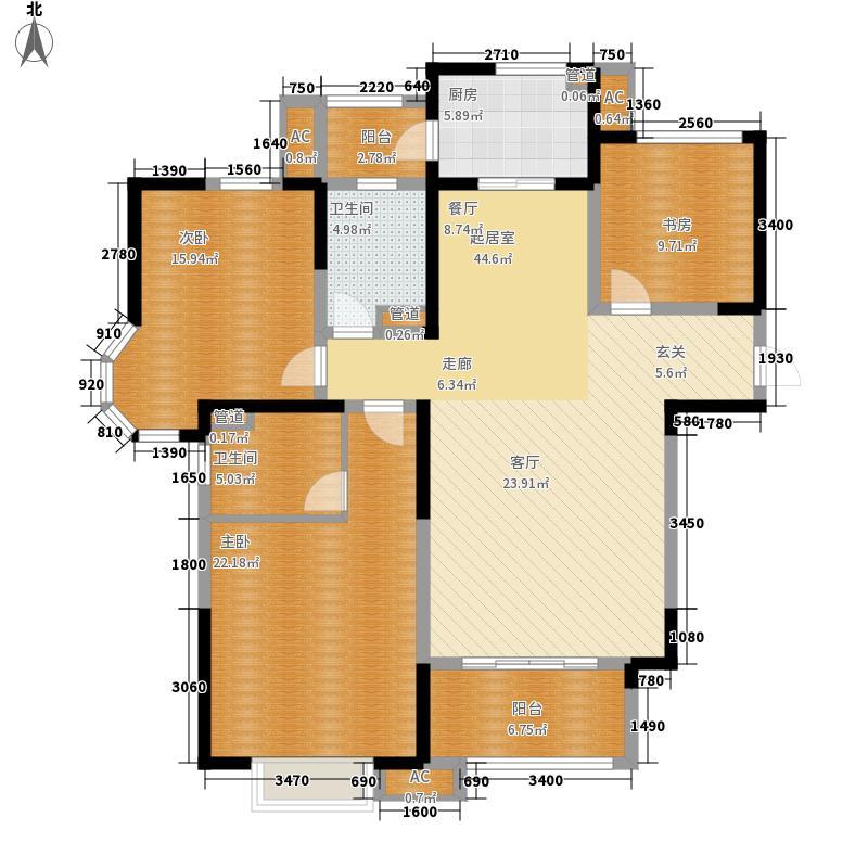绿地塞尚公馆138.00㎡绿地塞尚公馆户型图户型图3室2厅2卫1厨户型3室2厅2卫1厨