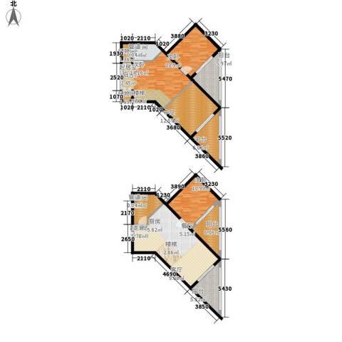 海巢2室0厅2卫0厨170.00㎡户型图
