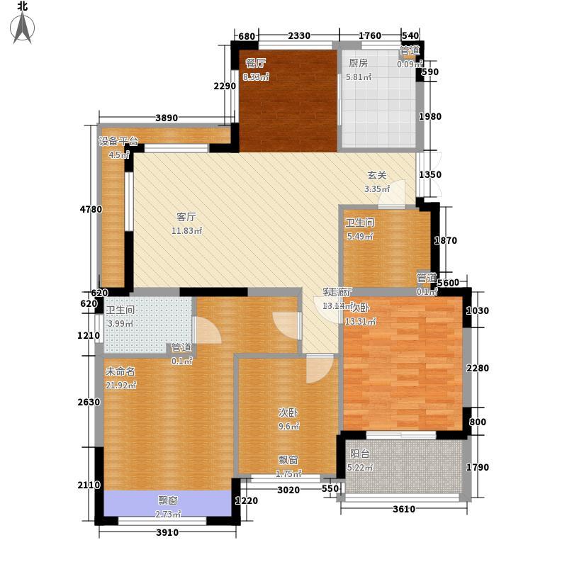 金昌美院125.14㎡F面积12514m户型