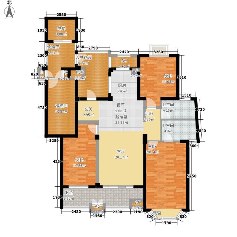 万华・金河湾135.00㎡万华・金河湾D2户型3室2厅2卫1厨135.00㎡户型3室2厅2卫1厨