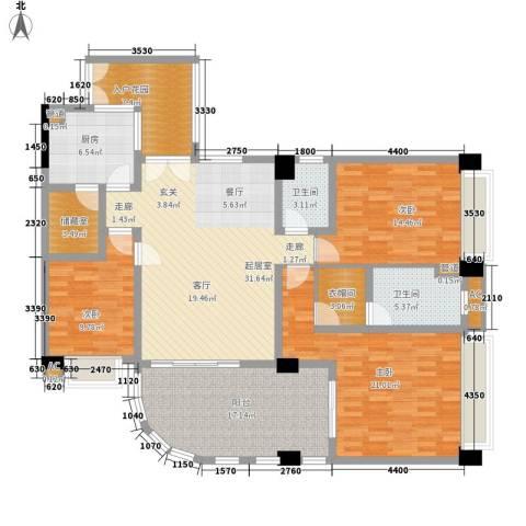 颐和上院3室0厅2卫1厨149.00㎡户型图