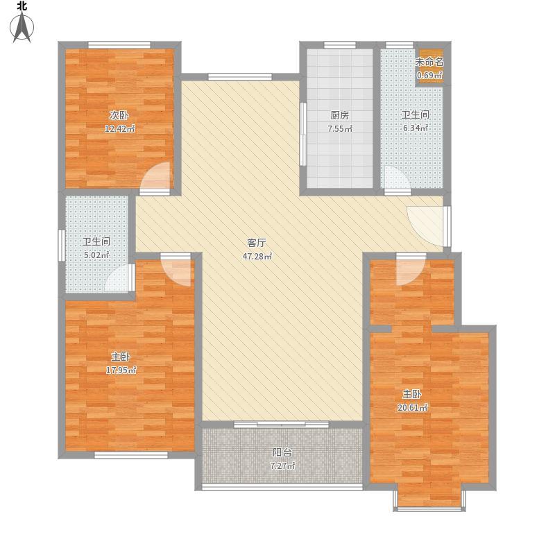 我的设计-上城府第25、26二层