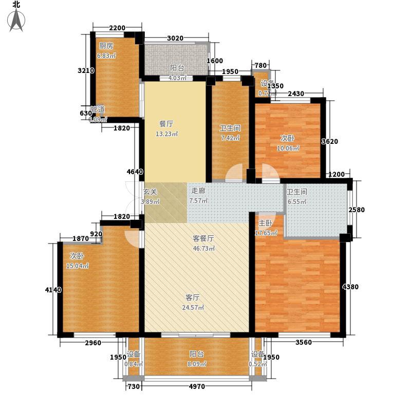 中海丁香花园142.23㎡中海丁香花园户型图2#楼C'户型3室2厅2卫1厨户型3室2厅2卫1厨