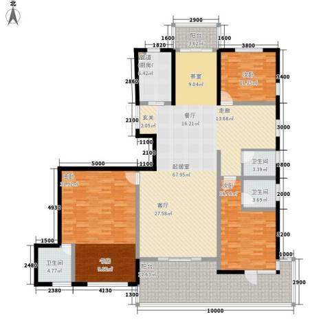 国耀一方城3室0厅3卫1厨215.00㎡户型图