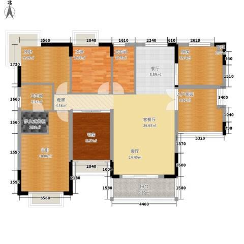 星月花园4室1厅2卫1厨159.00㎡户型图