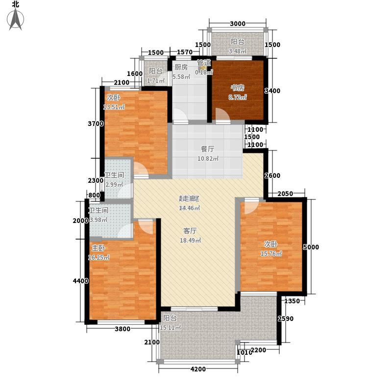 国耀一方城166.00㎡国耀一方城户型图19#楼02奇数层户型4室2厅3卫1厨户型4室2厅3卫1厨