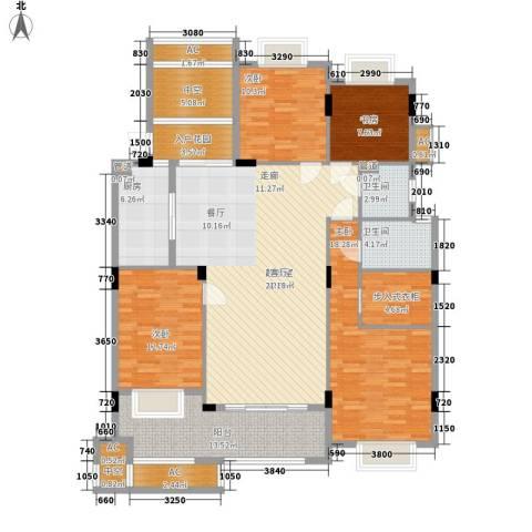 新宇拉菲公馆4室0厅2卫1厨147.00㎡户型图