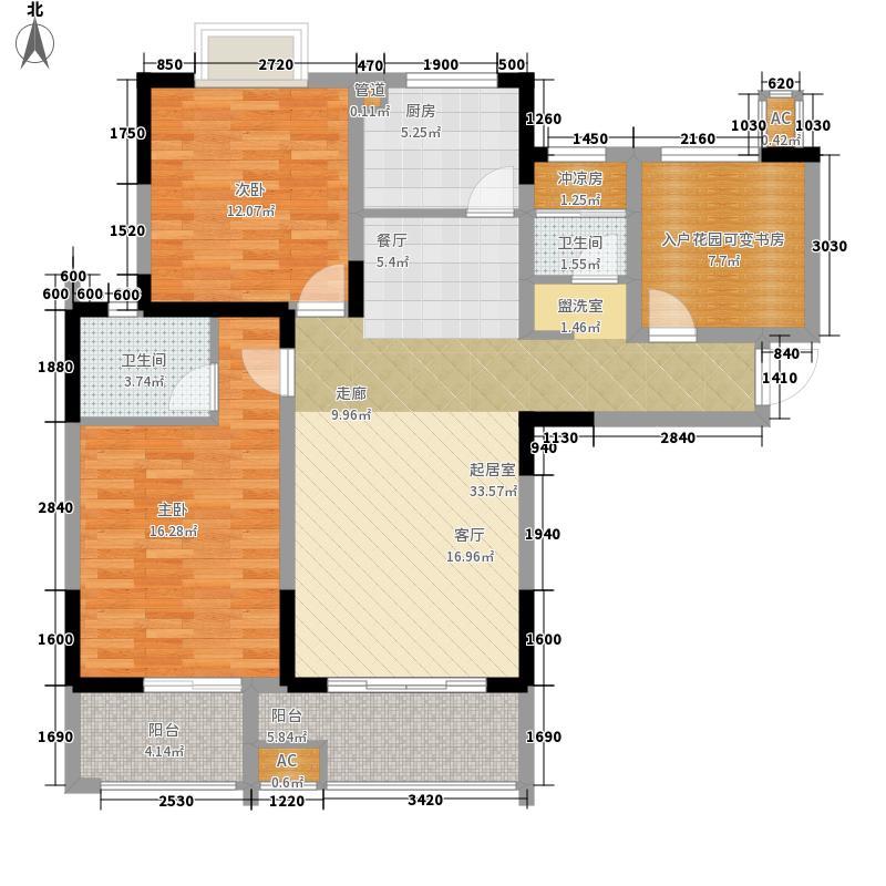 经典华城一期梧桐语112.00㎡经典华城一期梧桐语户型图一期户型A32室2厅2卫1厨户型2室2厅2卫1厨