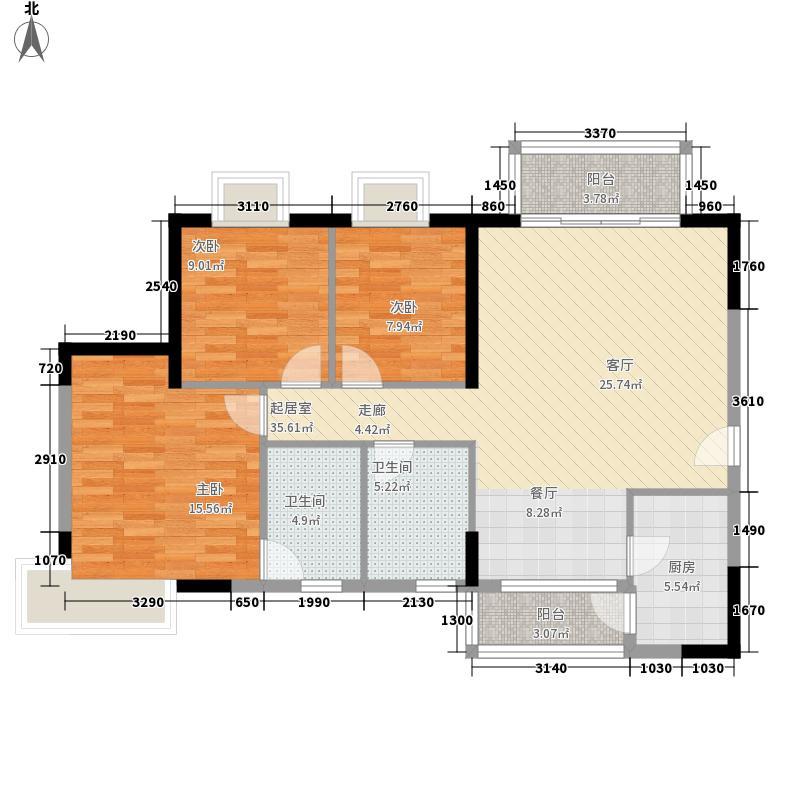 嘉多利花园深圳嘉多利花园户型图3户型10室