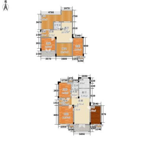 恒信・缔景名苑5室2厅2卫1厨161.78㎡户型图