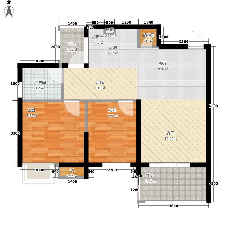 欧景庭园欧景庭园户型图2房2厅2室2厅1卫1厨户型2室2厅1卫1厨