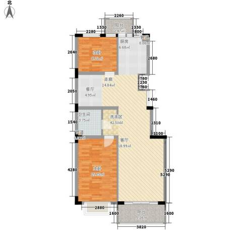吉粮康郡2室0厅1卫0厨118.00㎡户型图