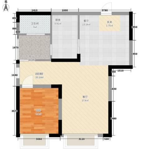 童话里二期1室0厅1卫1厨81.00㎡户型图