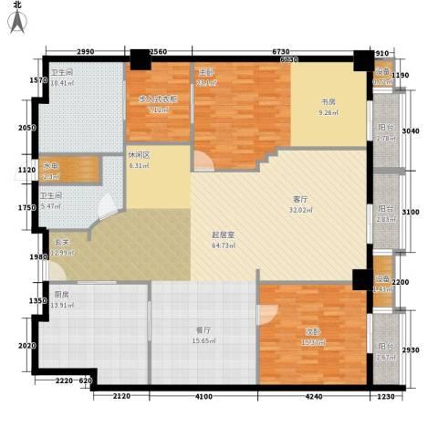 万都阿波罗2室0厅2卫1厨170.00㎡户型图