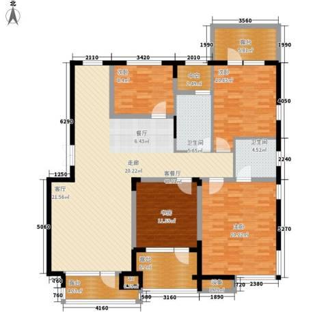 融创上城4室1厅2卫0厨165.00㎡户型图