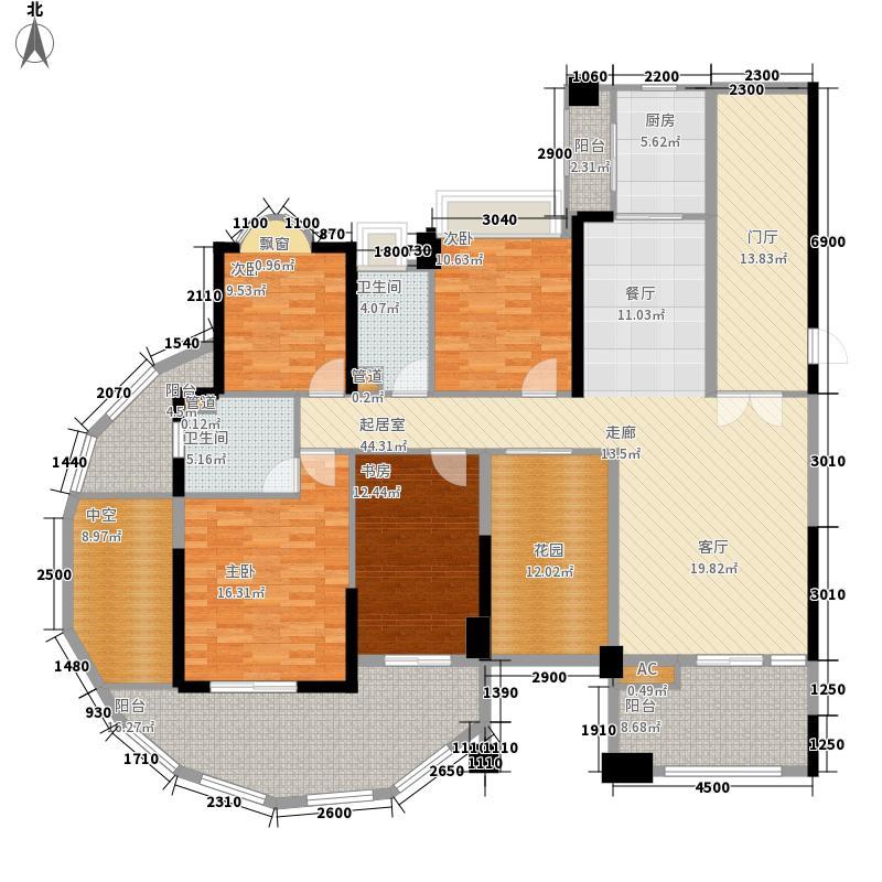 星海岸178.60㎡星海岸户型图1座21和23层01单元4室2厅2卫户型4室2厅2卫