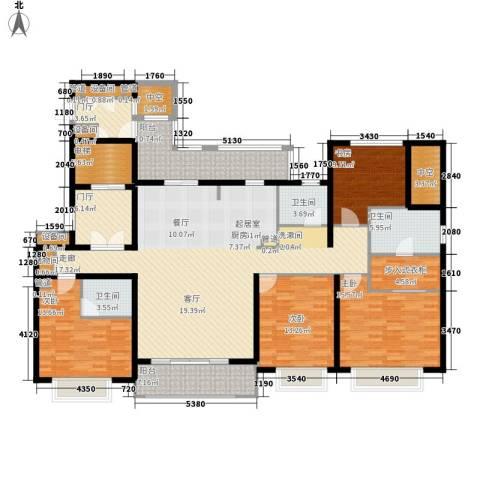 华润中海凯旋门4室0厅3卫0厨190.00㎡户型图