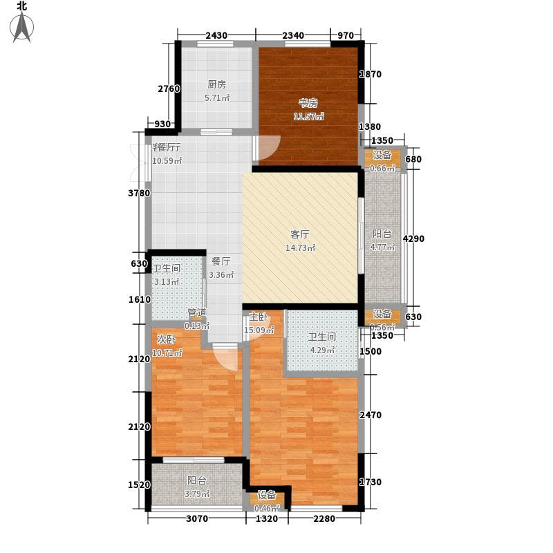 协安上郡115.34㎡协安上郡户型图3室户型图3室2厅2卫1厨户型3室2厅2卫1厨