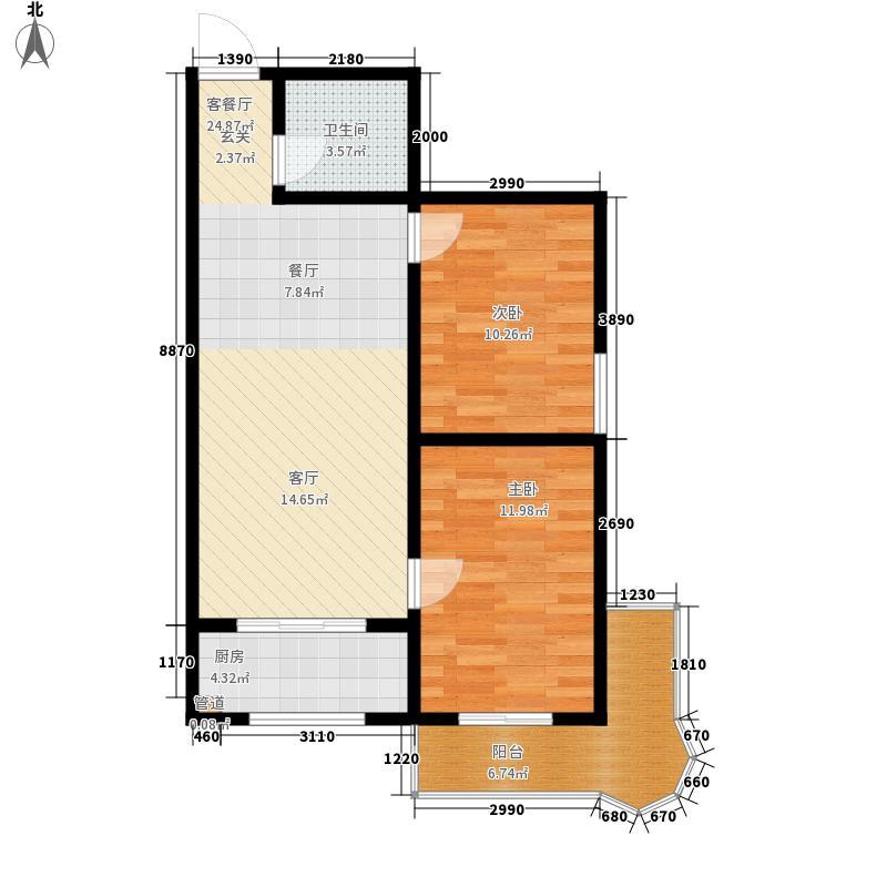 易居・山水豪庭项目87.00㎡易居・山水豪庭项目户型图F1户型2室2厅1卫1厨户型2室2厅1卫1厨