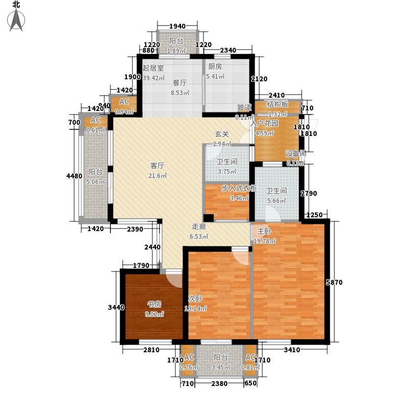 东方天郡137.00㎡东方天郡户型图C户型3室2厅2卫1厨户型3室2厅2卫1厨