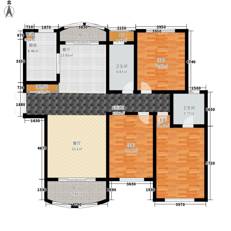 高迪晶城160.00㎡高迪晶城户型图4#楼C户型3室2厅2卫1厨户型3室2厅2卫1厨