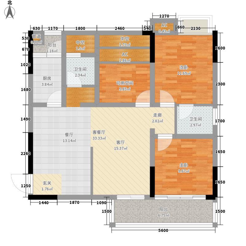 东马・滨江新城东马・滨江新城E3印户型10室