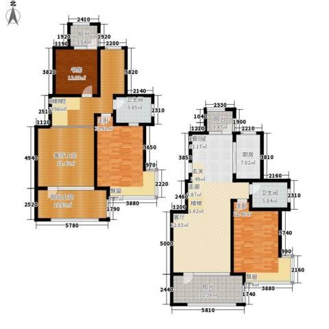 同济盛世家园3室0厅2卫1厨272.00㎡户型图