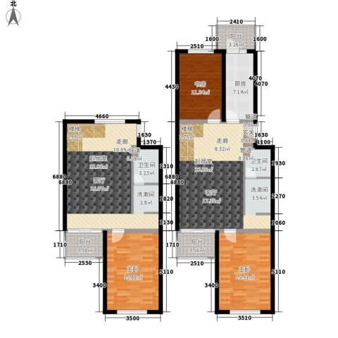 怡清园3室0厅2卫1厨149.00㎡户型图