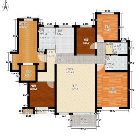 雨润新城4室0厅3卫0厨151.00㎡户型图