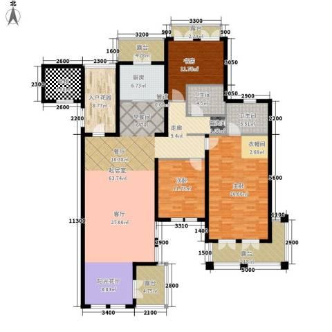 圣芭芭拉3室0厅2卫1厨230.00㎡户型图