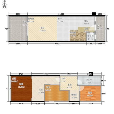 华悦柠檬圈子3室0厅2卫0厨159.00㎡户型图
