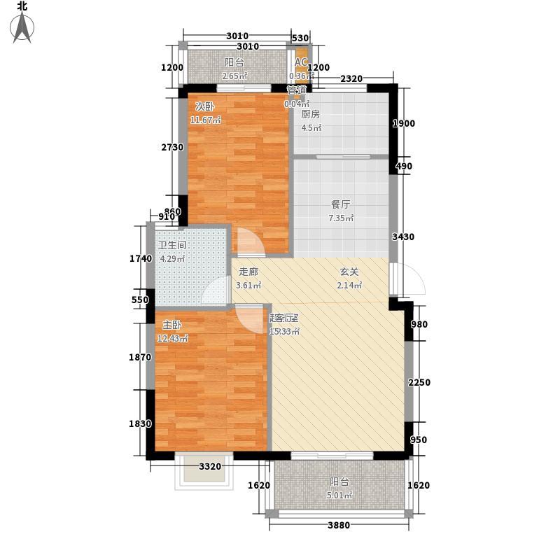 福和御园福和御园户型图2室2厅1卫1厨户型10室