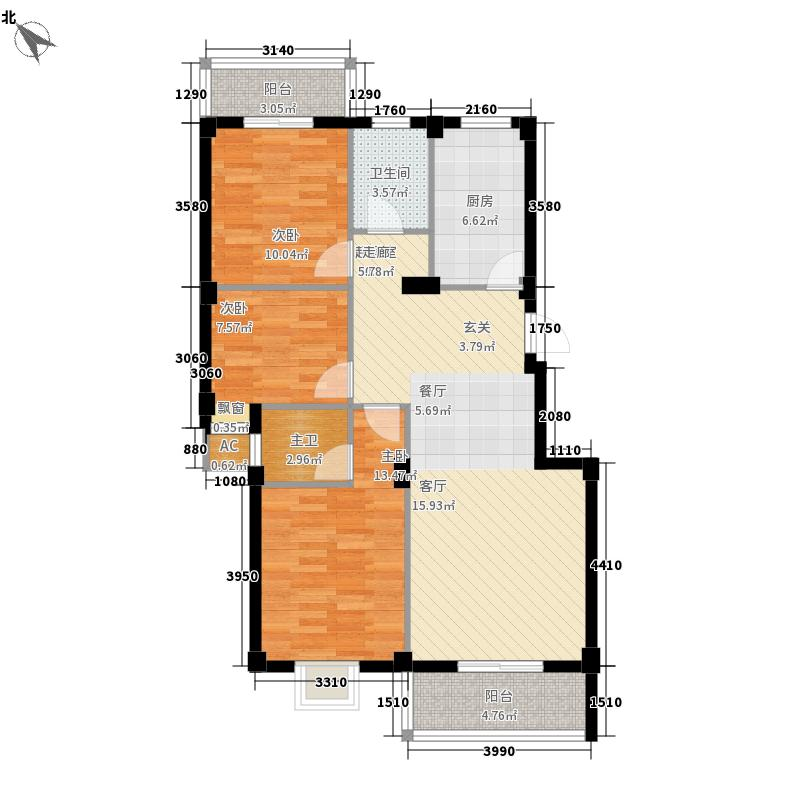 福和御园福和御园户型图3室2厅2卫1厨户型10室