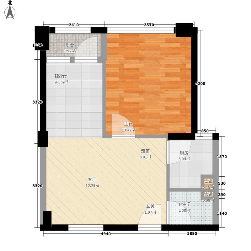 建鸿达现代公寓户型