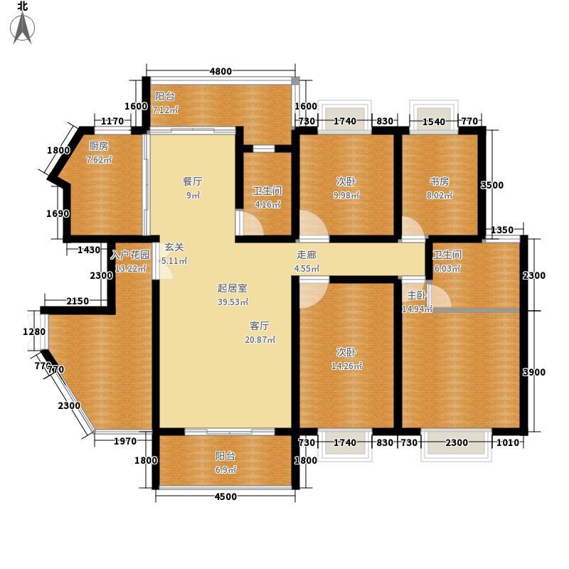 龙潭春天151.72㎡商住楼面积15172m户型