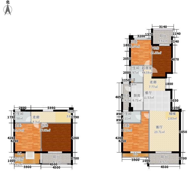 联邦广场200.08㎡联邦广场户型图5室2厅3卫1厨户型10室