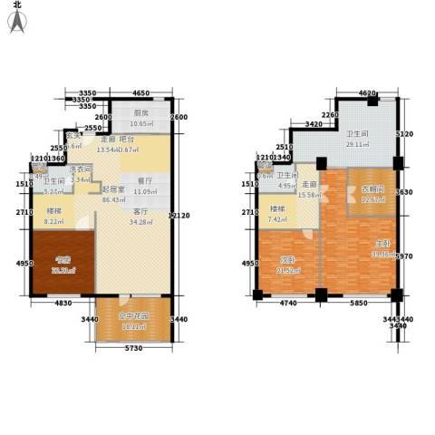 海御193室0厅3卫1厨290.00㎡户型图