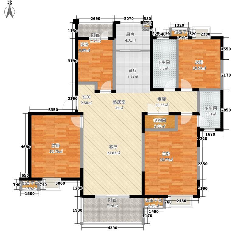 青剑湖花园142.00㎡青剑湖花园户型图户型图4室2厅2卫1厨户型4室2厅2卫1厨