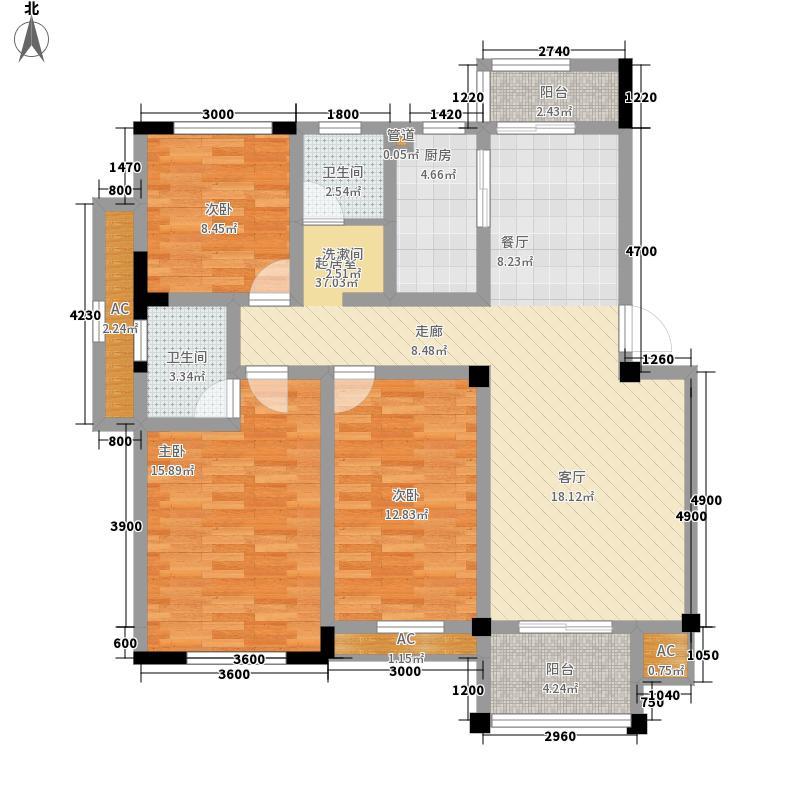 中天蓝山中天蓝山户型图20080723-11号楼E户型3室2厅1卫1厨户型3室2厅1卫1厨