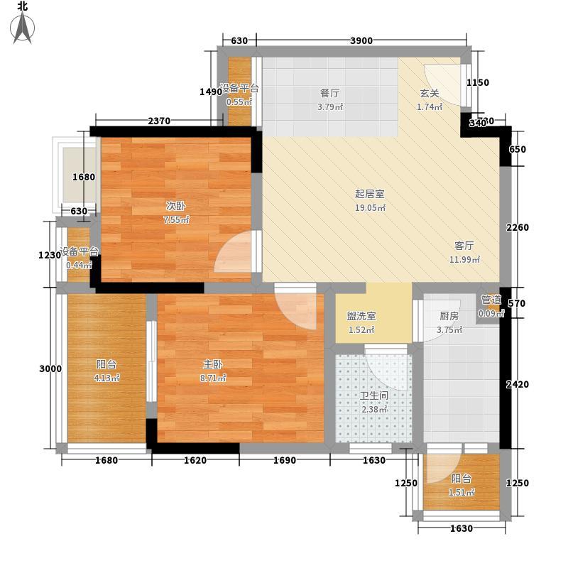 正基城市主场户型图(11/11张)