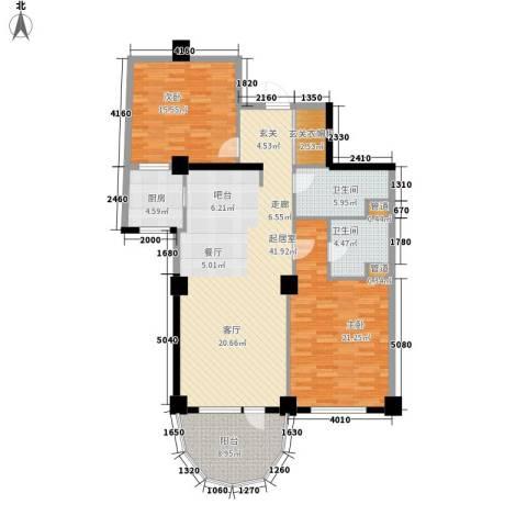 海御192室0厅2卫1厨143.00㎡户型图
