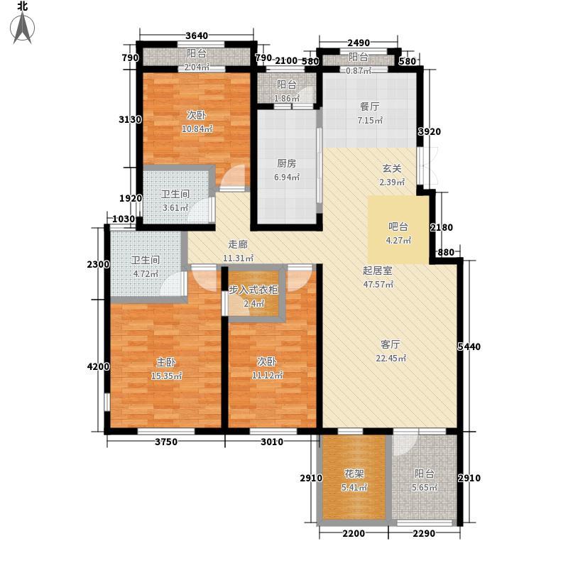 香邑溪谷142.26㎡B3-2层(售完)户型