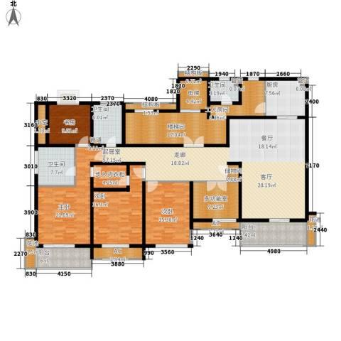 香滨半岛4室0厅3卫1厨242.00㎡户型图