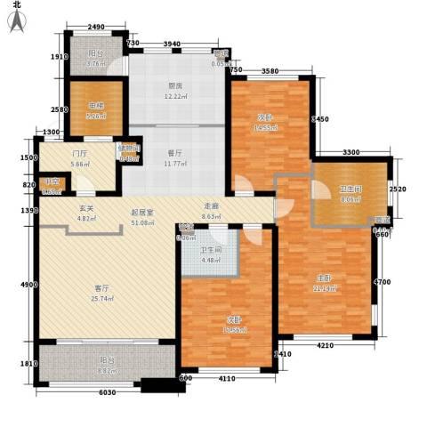 尚御府3室0厅2卫1厨175.00㎡户型图
