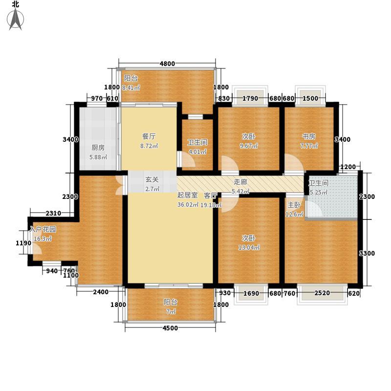 龙潭春天155.21㎡商住楼面积15521m户型